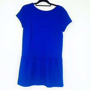 CO from Urban Outfitters blue drop waist dress M